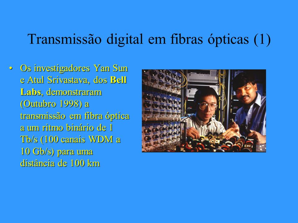 Transmissão digital em fibras ópticas (1)