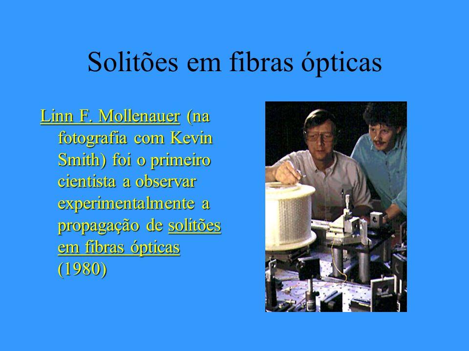 Solitões em fibras ópticas