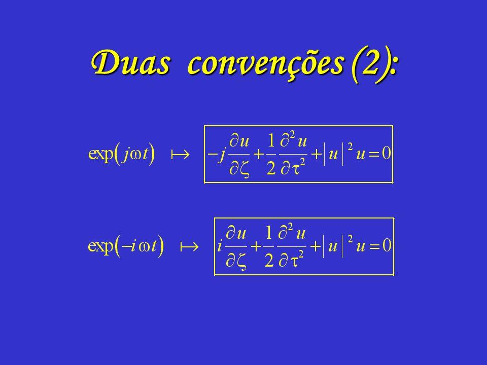 Duas convenções (2):