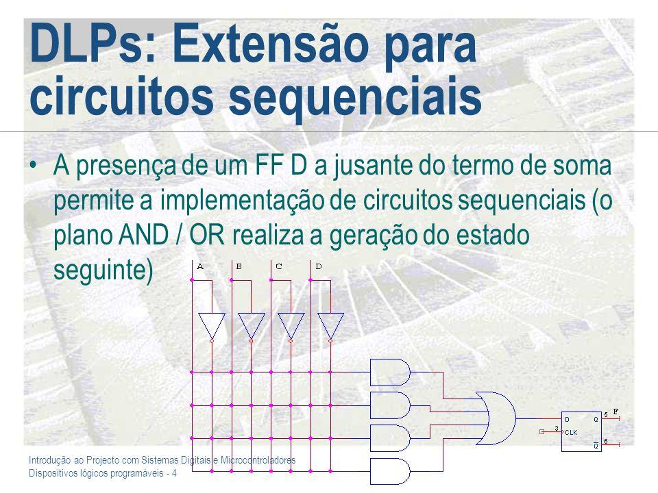 DLPs: Extensão para circuitos sequenciais