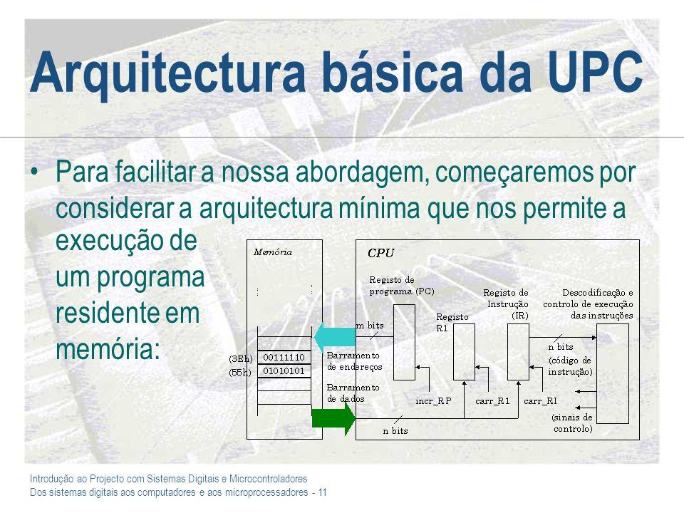 Arquitectura básica da UPC