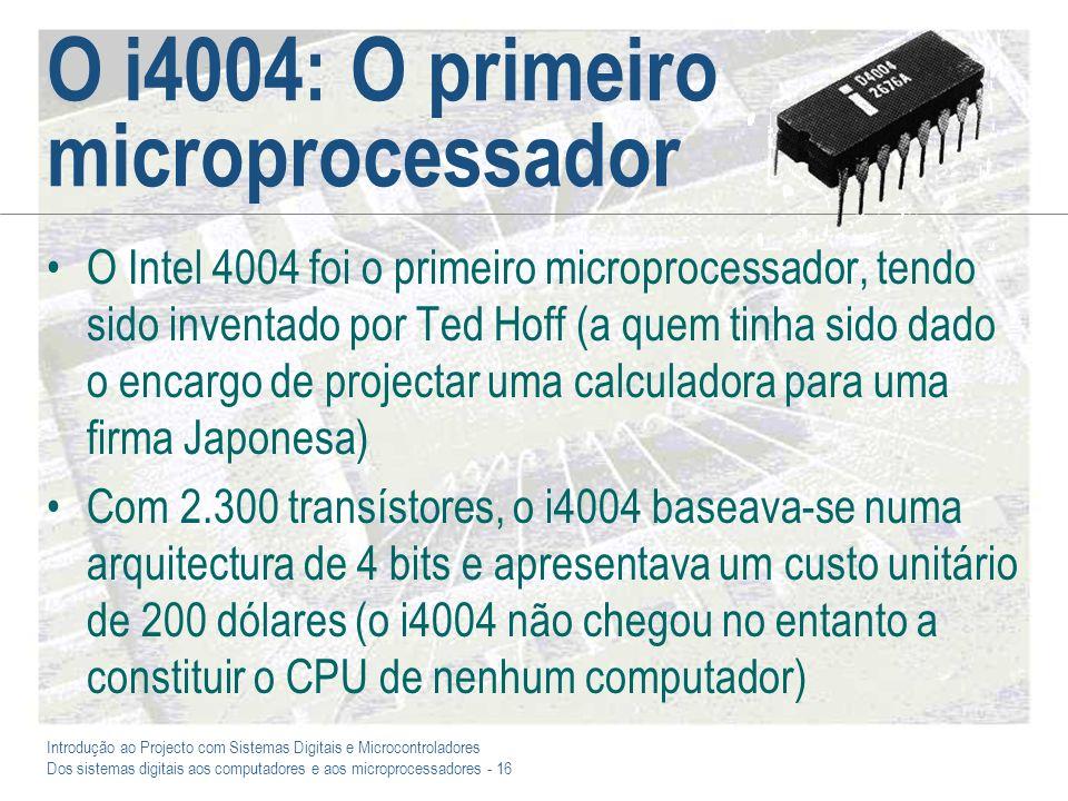 O i4004: O primeiro microprocessador