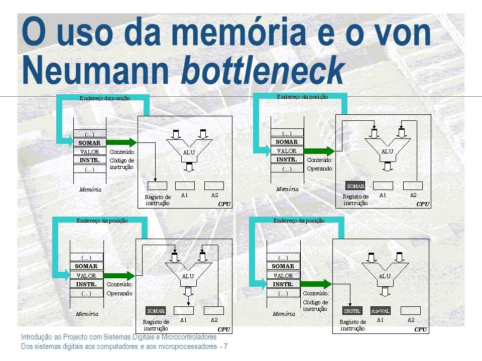 O uso da memória e o von Neumann bottleneck