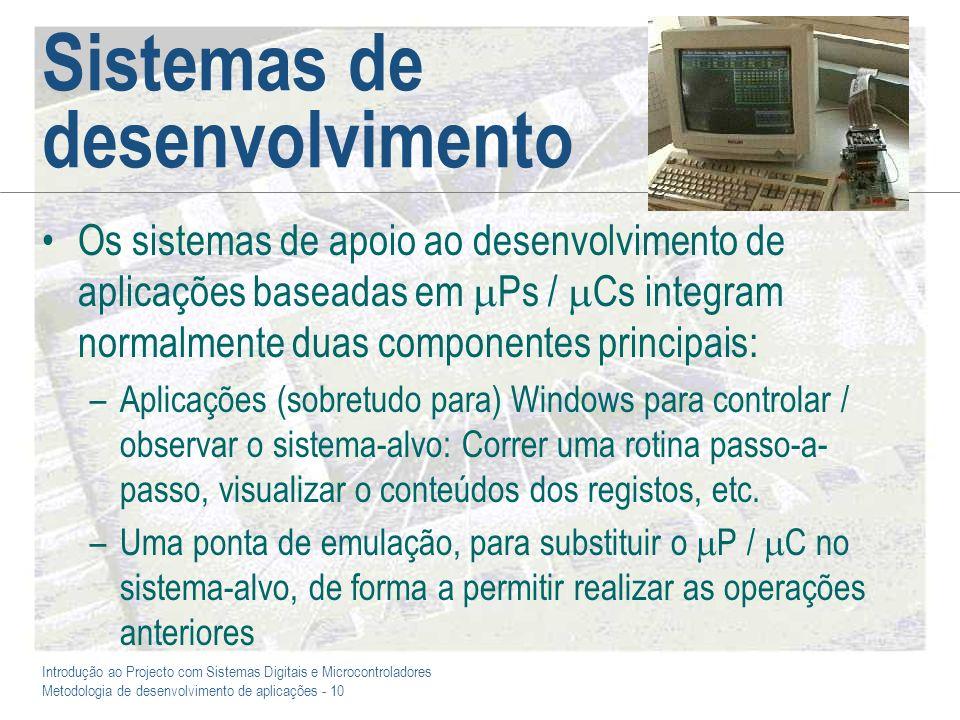 Sistemas de desenvolvimento