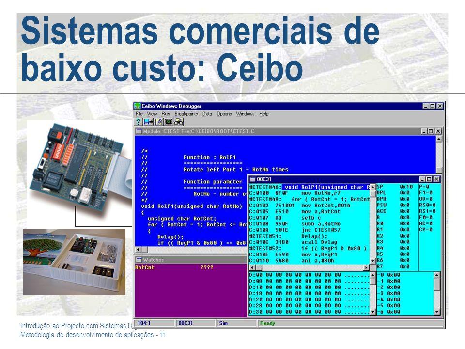 Sistemas comerciais de baixo custo: Ceibo