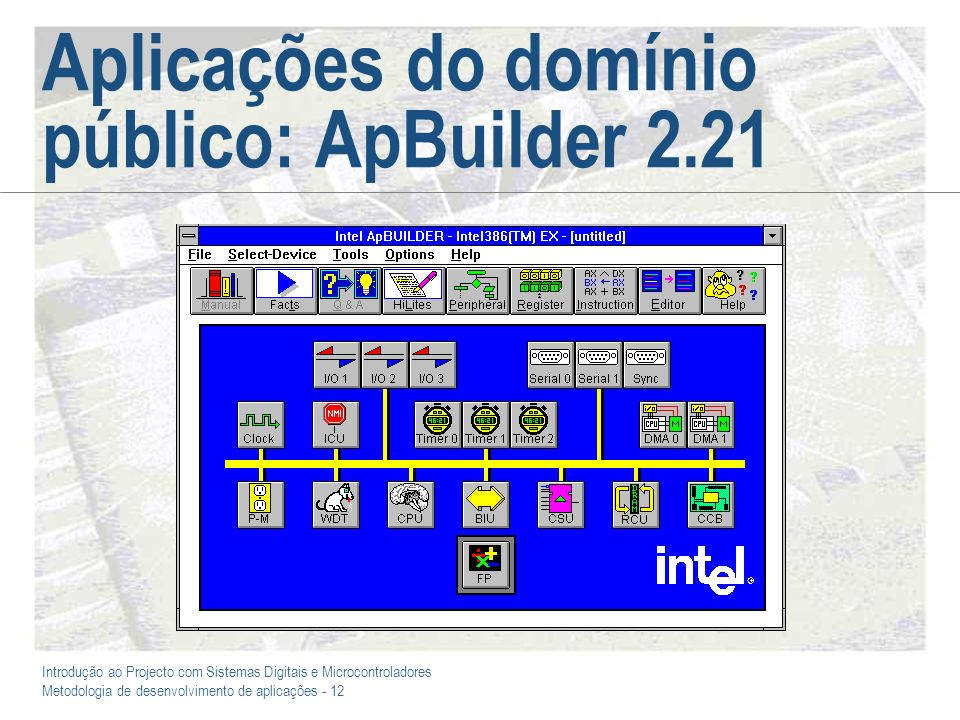 Aplicações do domínio público: ApBuilder 2.21