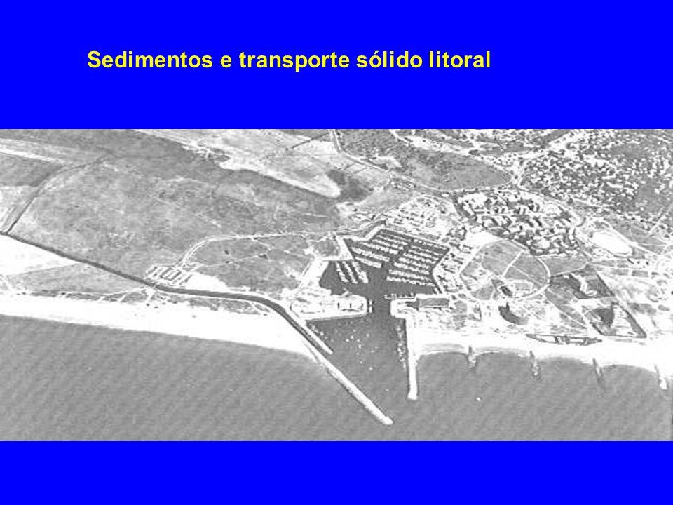 Sedimentos e transporte sólido litoral