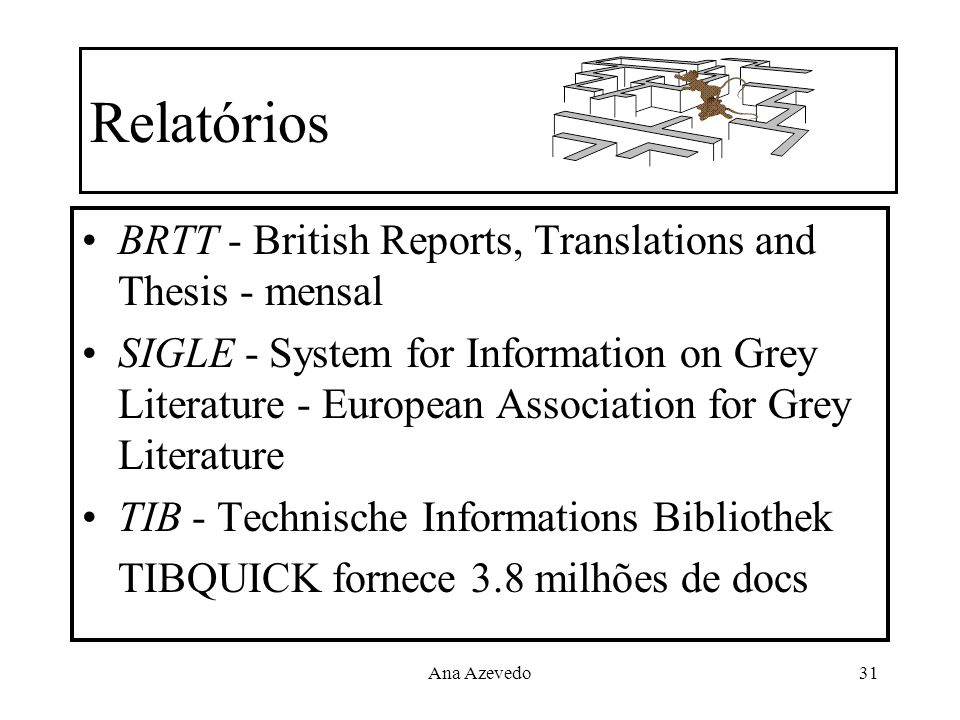 Relatórios BRTT - British Reports, Translations and Thesis - mensal