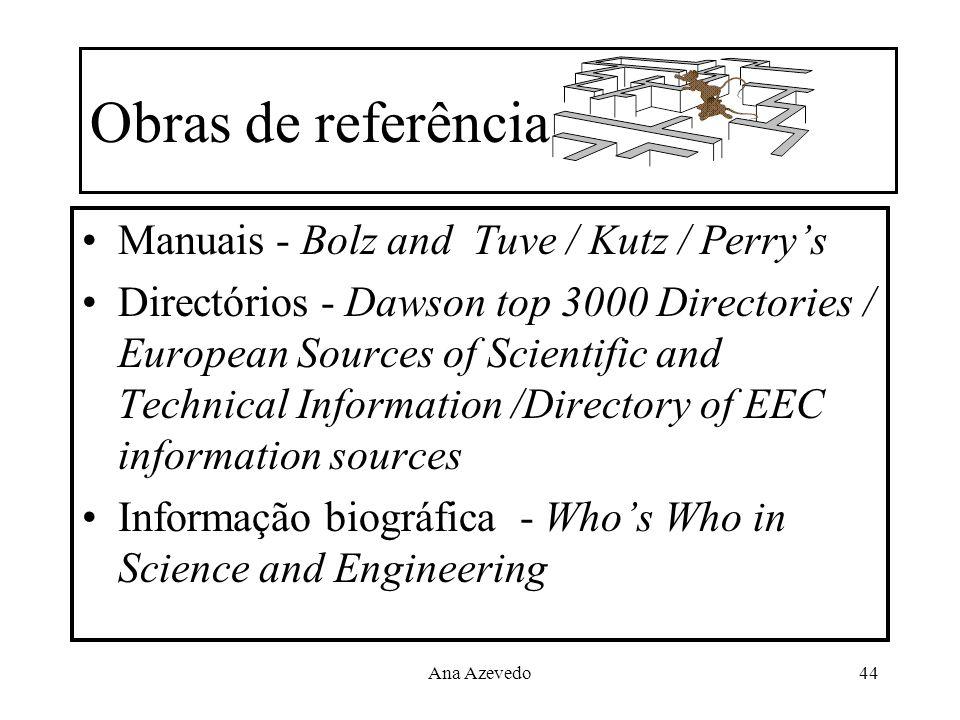 Obras de referência Manuais - Bolz and Tuve / Kutz / Perry's