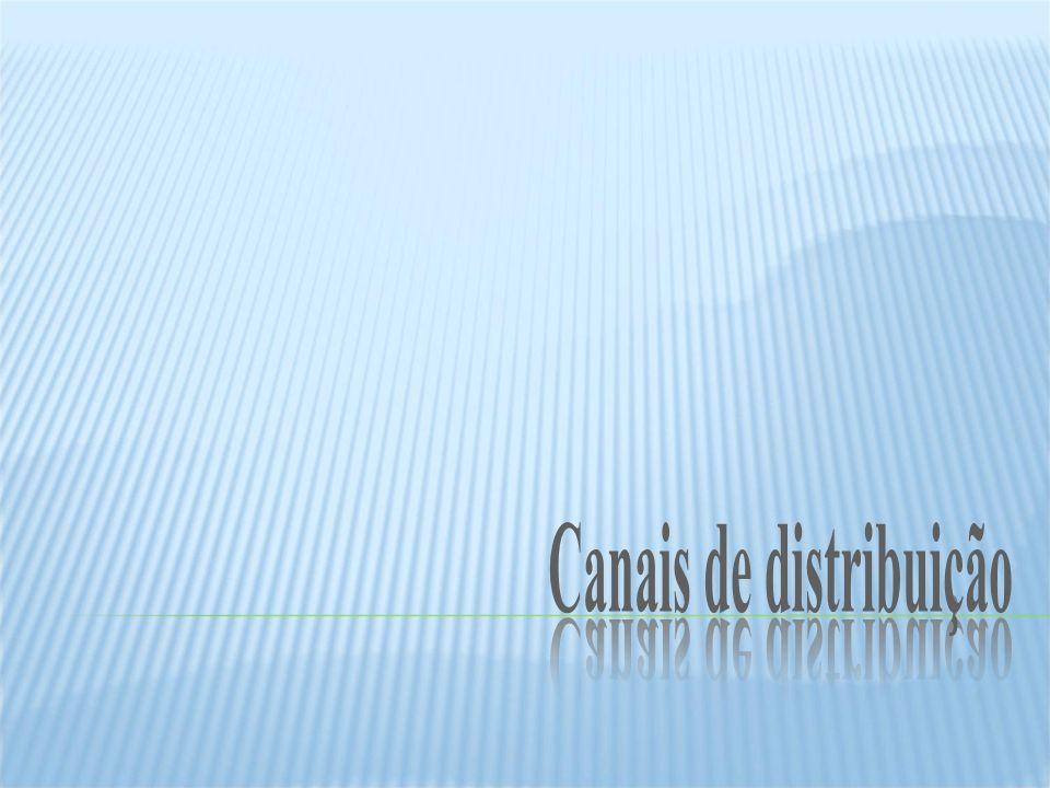 Canais de distribuição Canais de distribuição