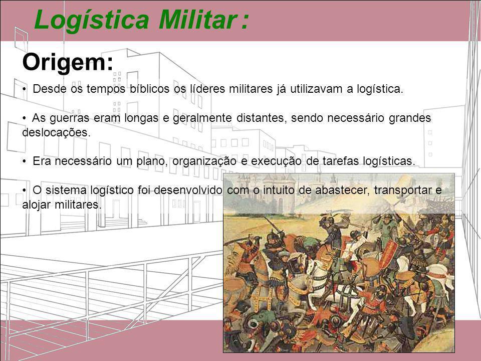 Logística Militar : Origem: