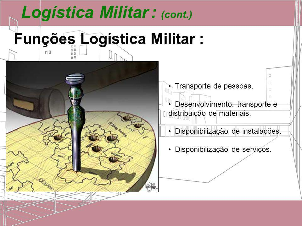 Logística Militar : (cont.)