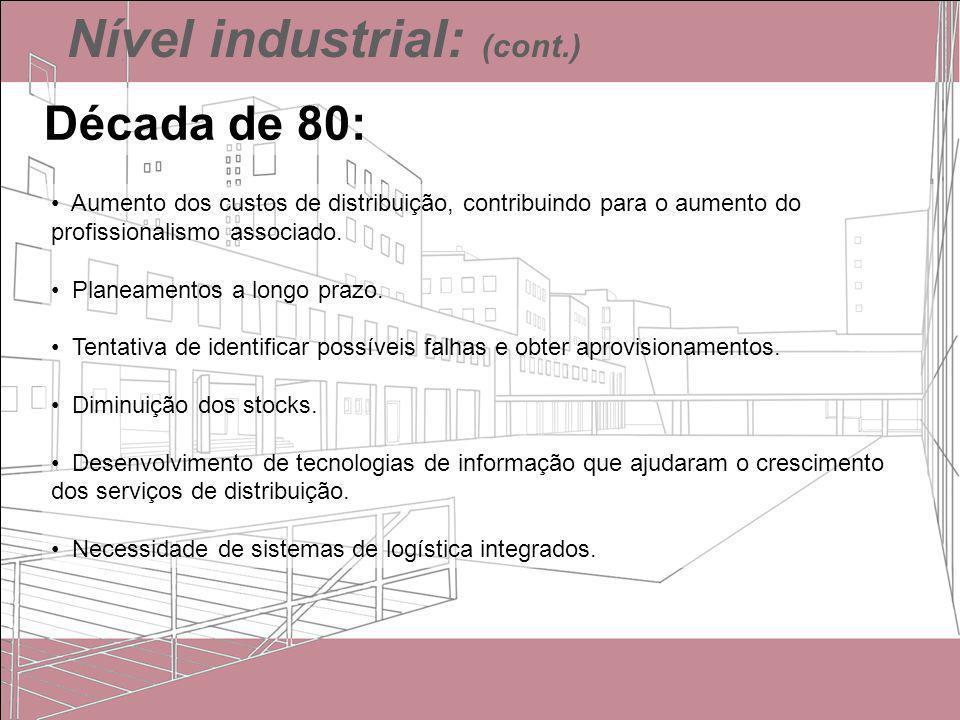 Nível industrial: (cont.)