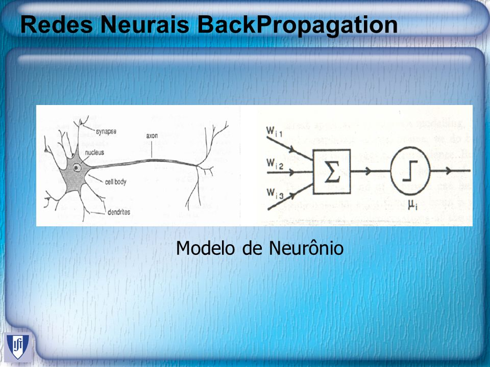 Redes Neurais BackPropagation