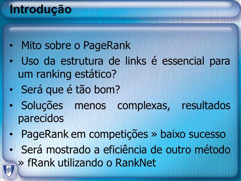 Introdução Mito sobre o PageRank