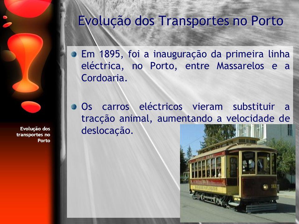 Evolução dos Transportes no Porto