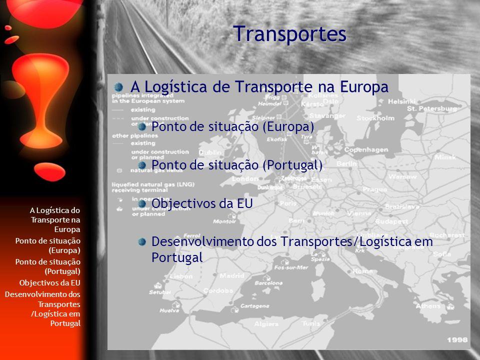 Transportes A Logística de Transporte na Europa