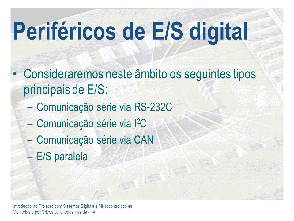 Periféricos de E/S digital