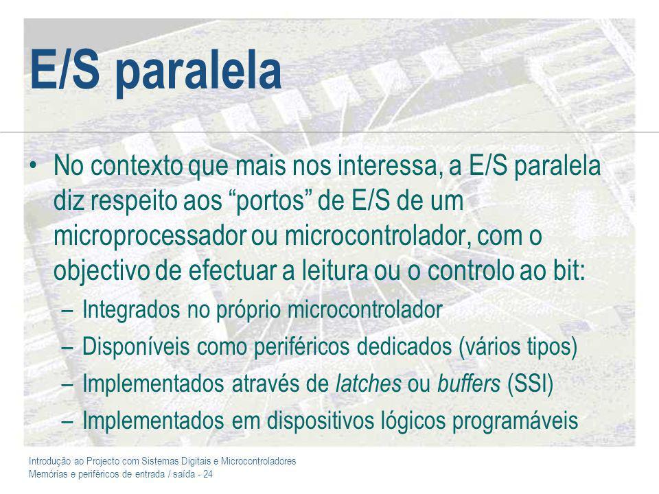 E/S paralela