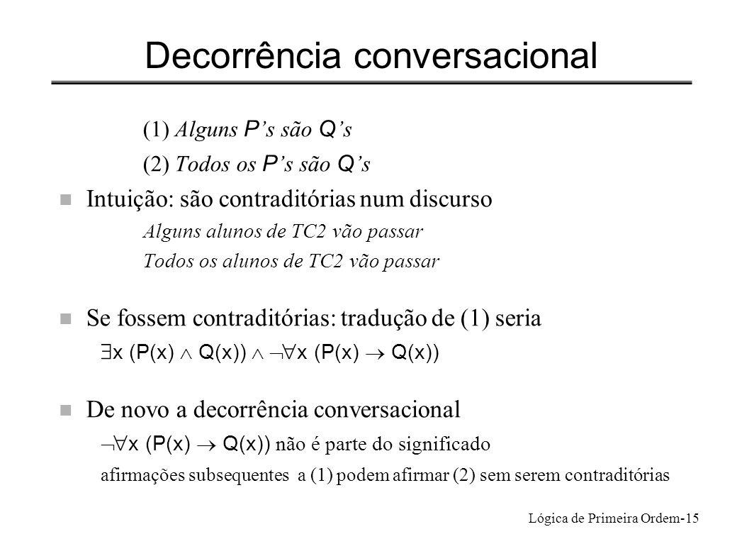 Decorrência conversacional