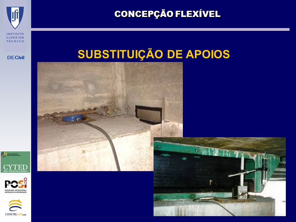 SUBSTITUIÇÃO DE APOIOS