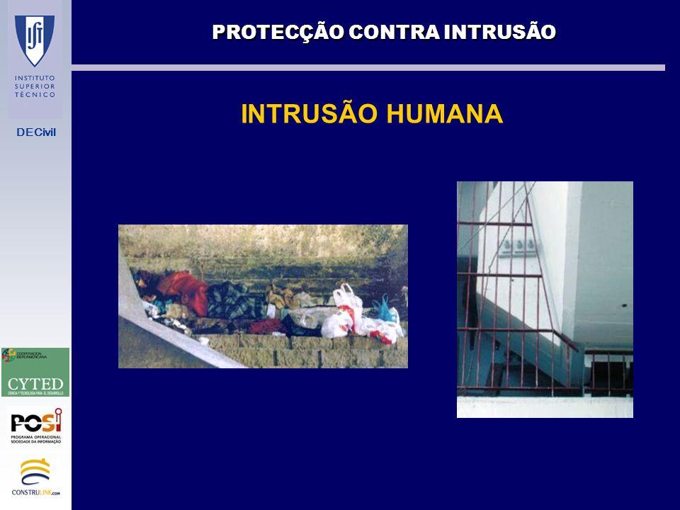 PROTECÇÃO CONTRA INTRUSÃO