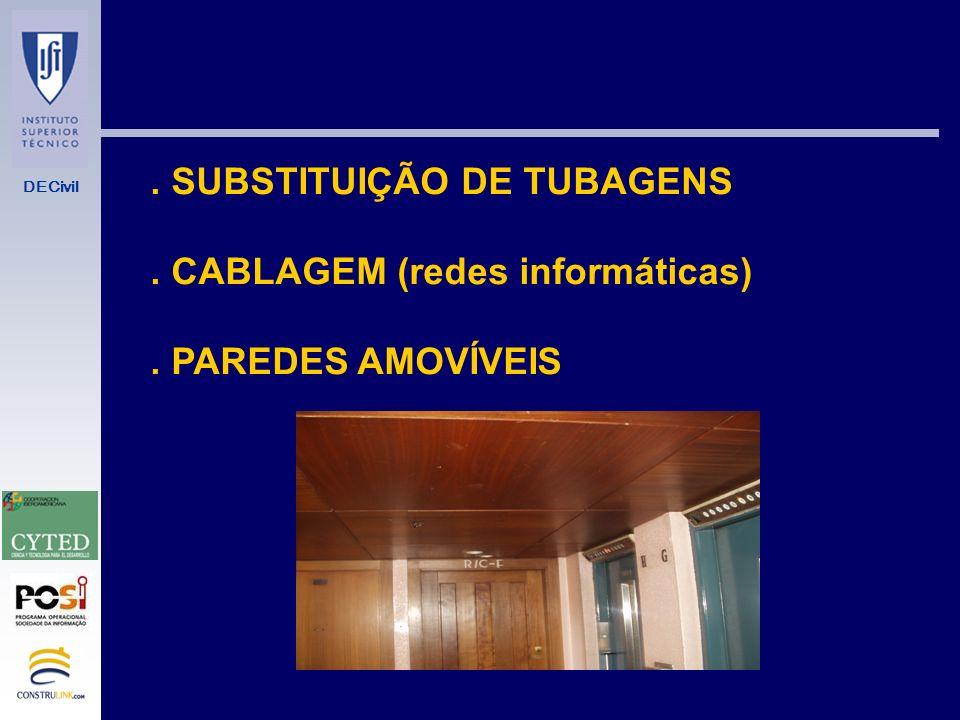 . SUBSTITUIÇÃO DE TUBAGENS
