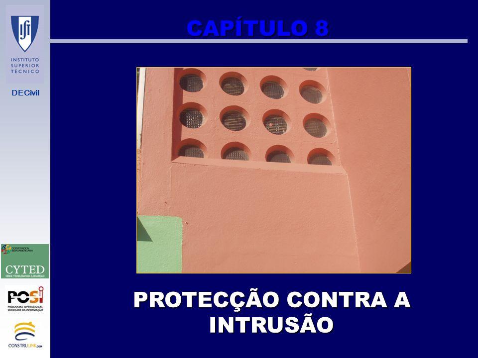 PROTECÇÃO CONTRA A INTRUSÃO