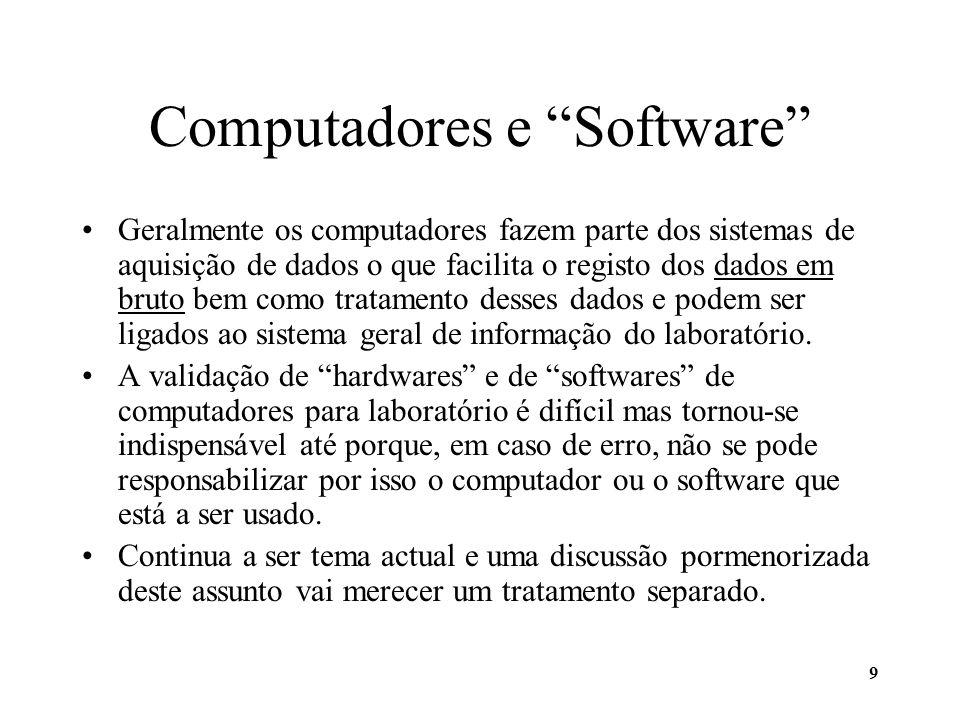 Computadores e Software