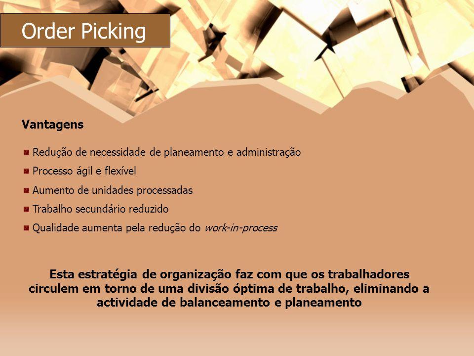 Order Picking Vantagens