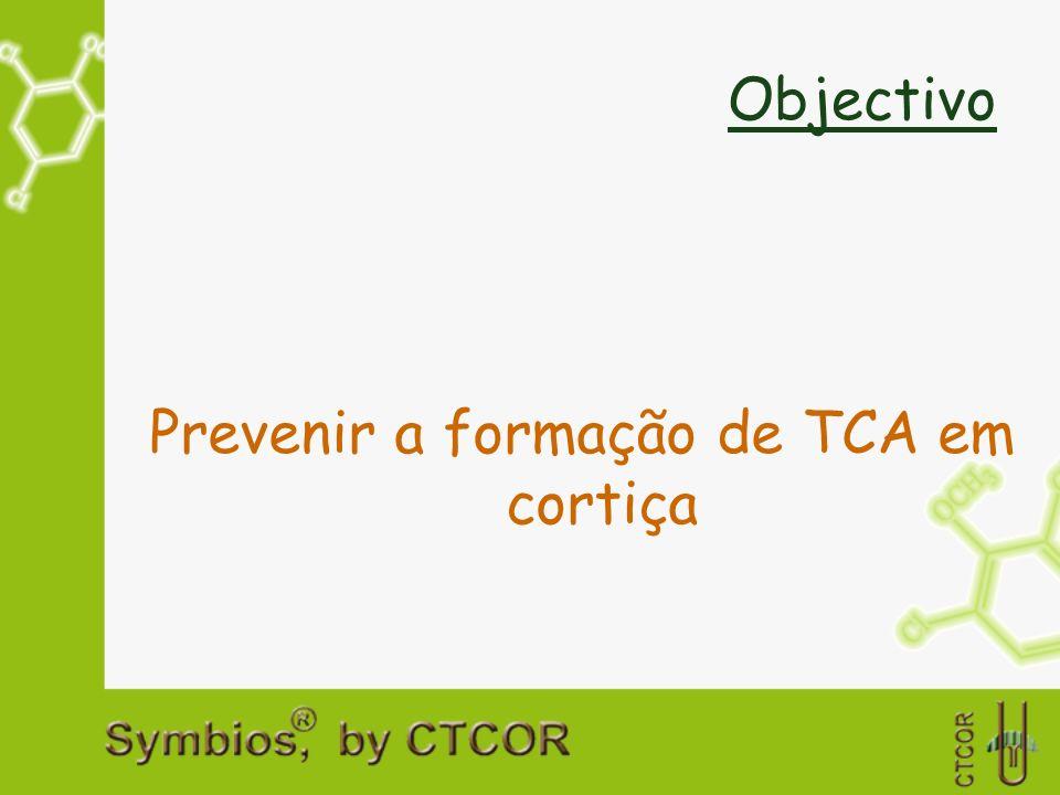 Prevenir a formação de TCA em cortiça