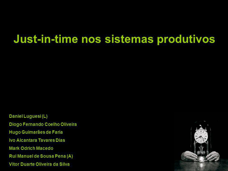 Just-in-time nos sistemas produtivos