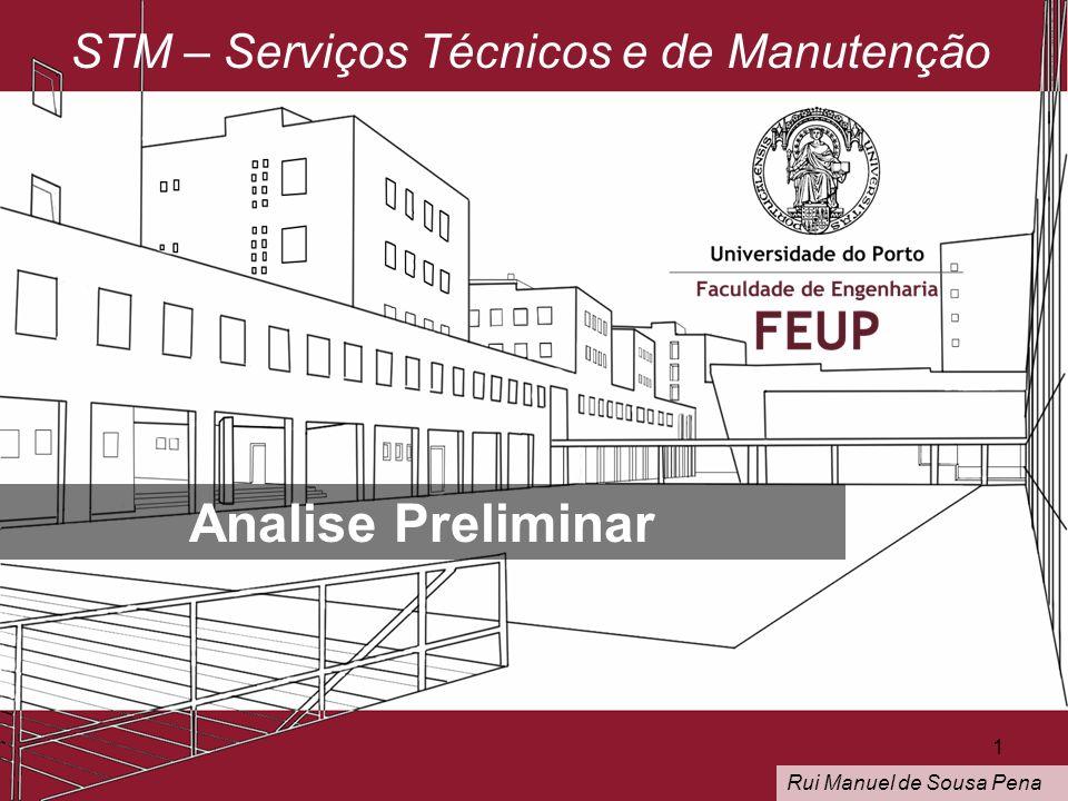 Analise Preliminar STM – Serviços Técnicos e de Manutenção