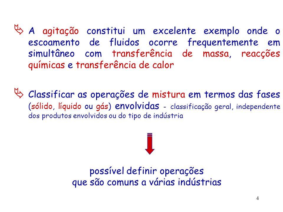 possível definir operações que são comuns a várias indústrias