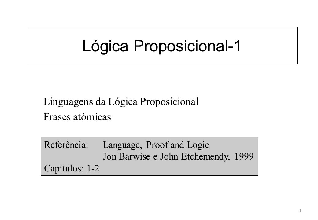 Lógica Proposicional-1