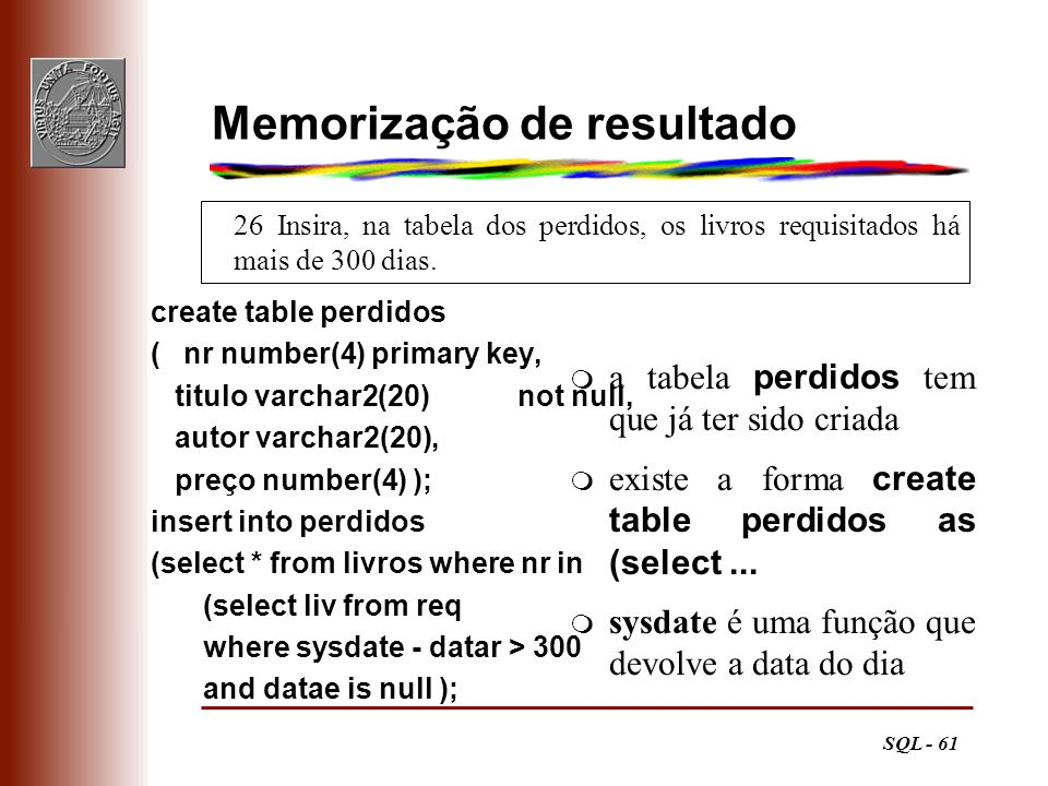 Memorização de resultado