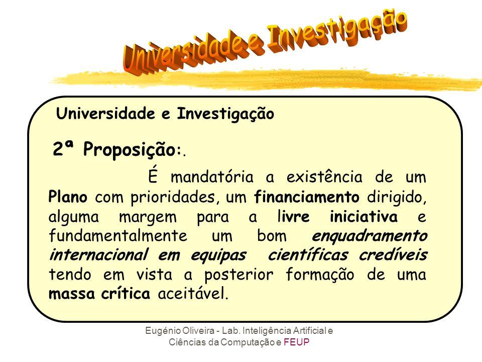 Universidade e Investigação