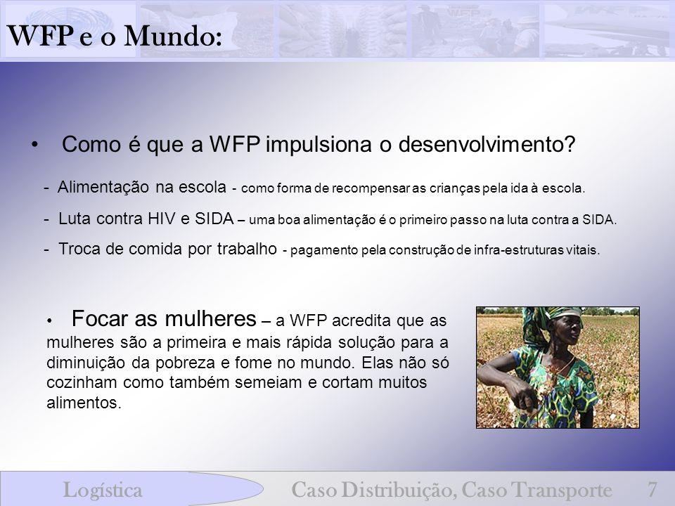 WFP e o Mundo: Como é que a WFP impulsiona o desenvolvimento