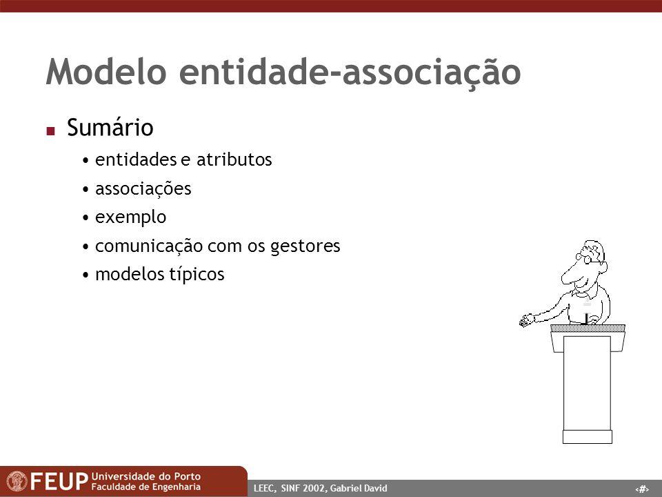 Modelo entidade-associação