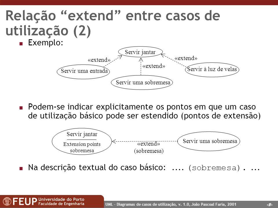 Relação extend entre casos de utilização (2)