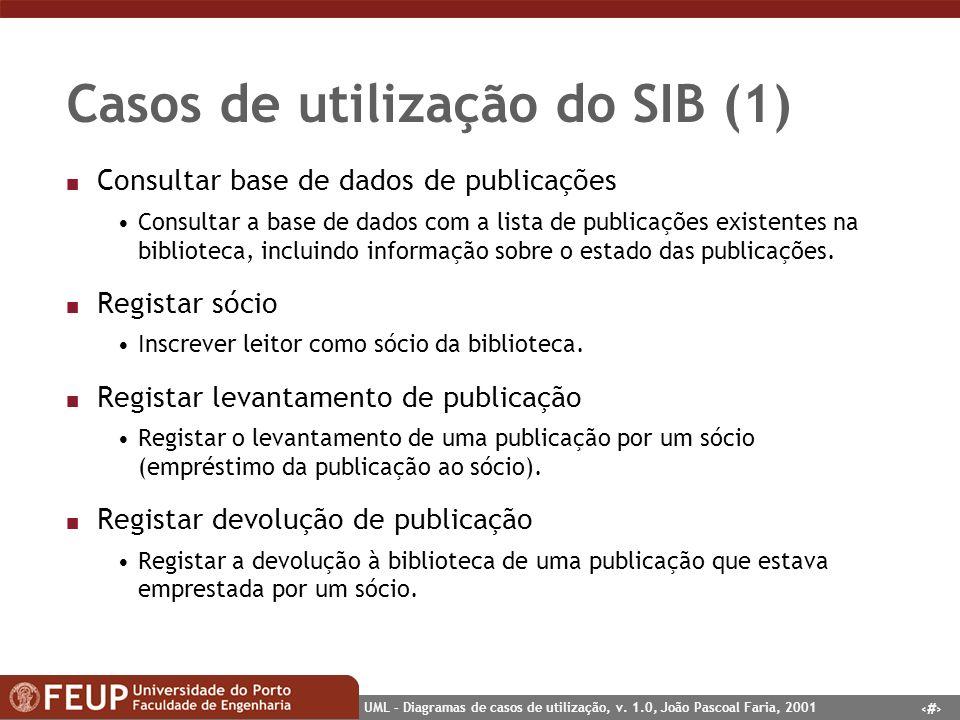 Casos de utilização do SIB (1)