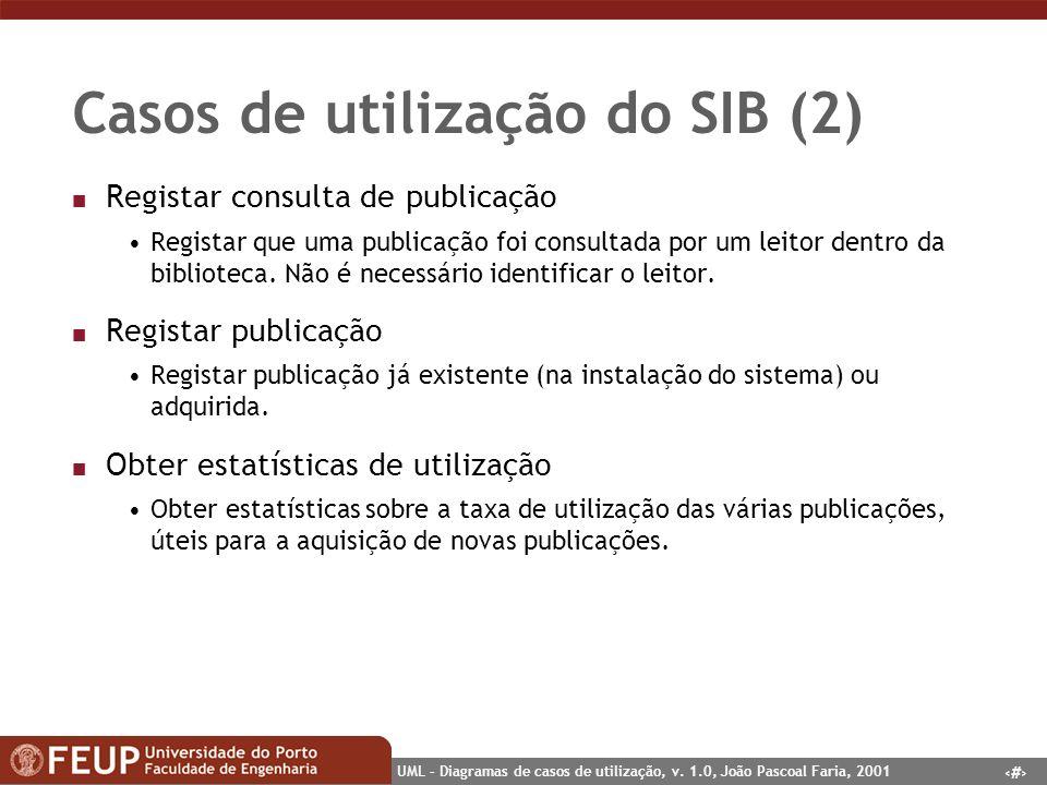 Casos de utilização do SIB (2)