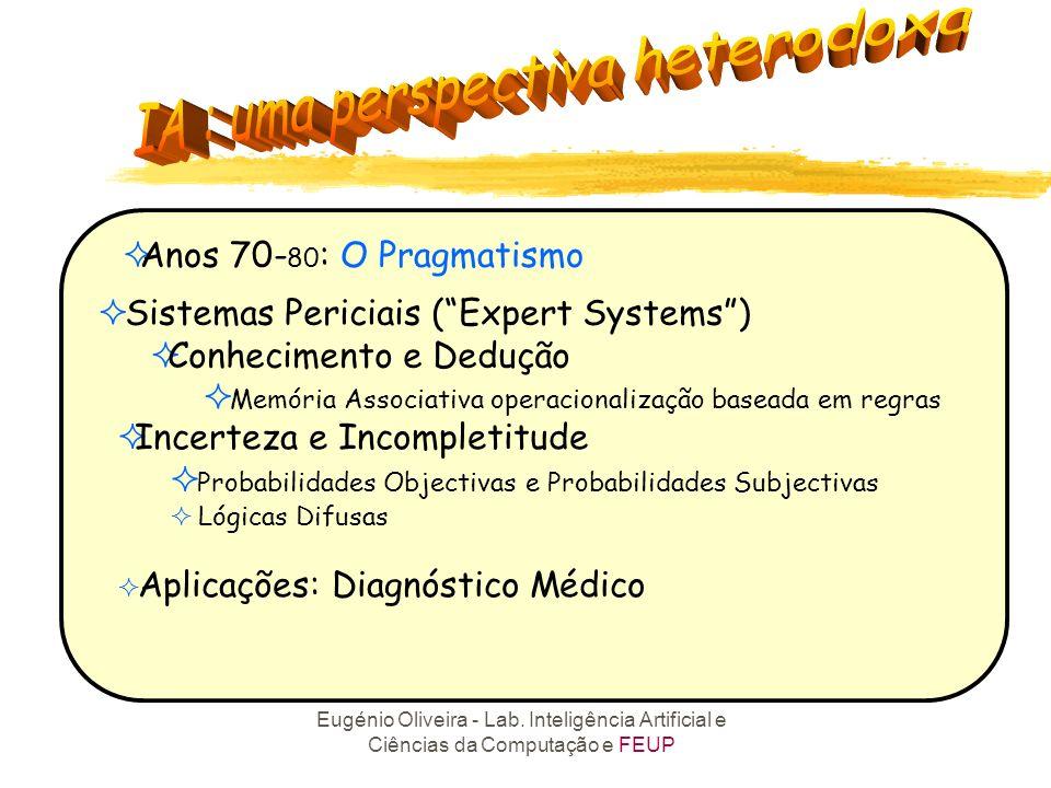 Sistemas Periciais ( Expert Systems ) Conhecimento e Dedução