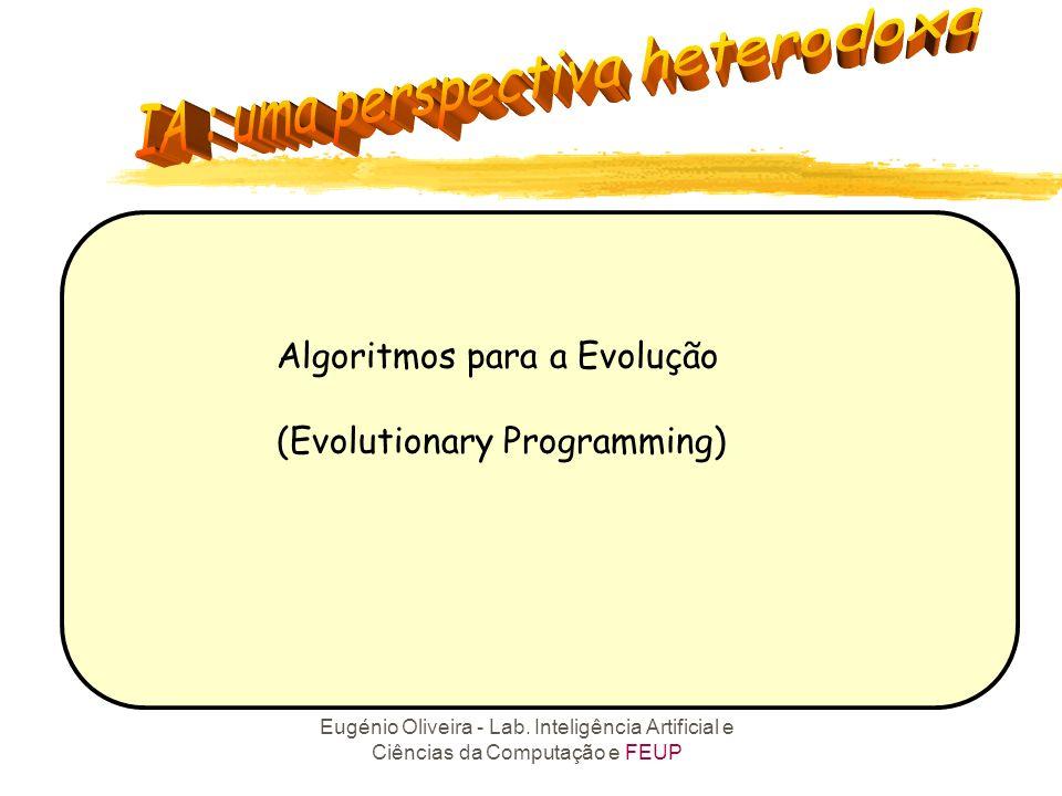 Algoritmos para a Evolução