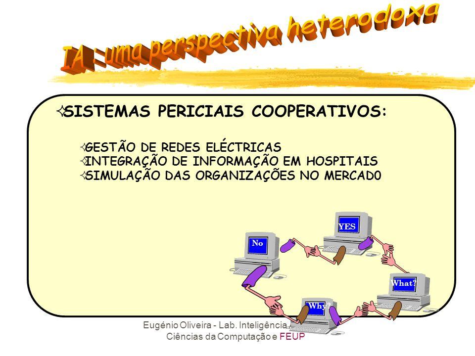 SISTEMAS PERICIAIS COOPERATIVOS:
