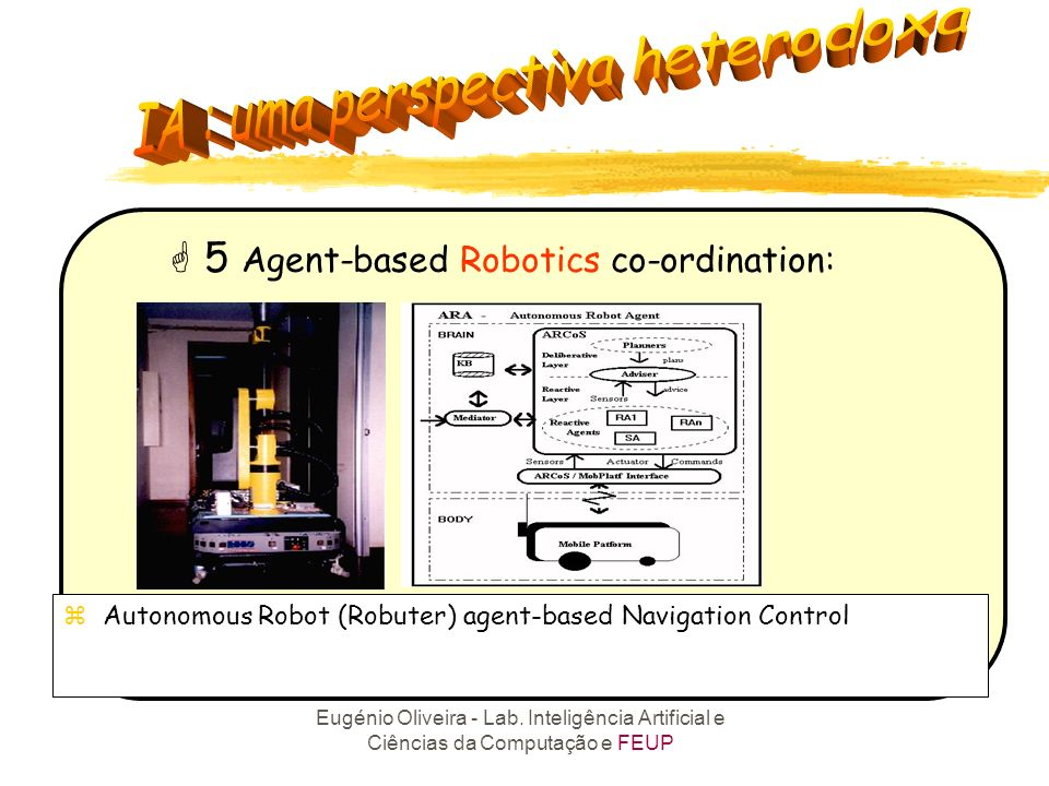 5 Agent-based Robotics co-ordination: