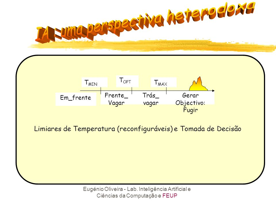 Limiares de Temperatura (reconfiguráveis) e Tomada de Decisão