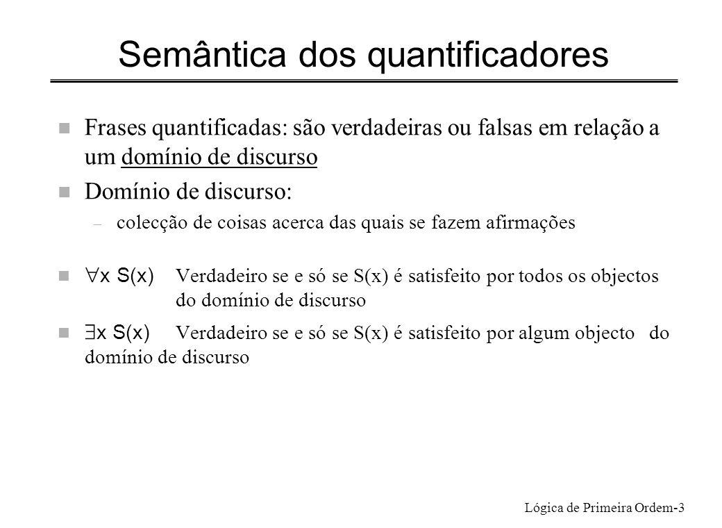 Semântica dos quantificadores