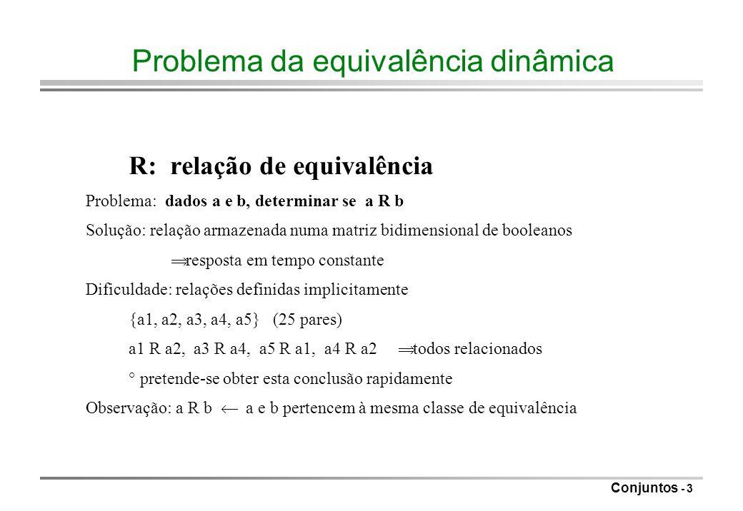 Problema da equivalência dinâmica