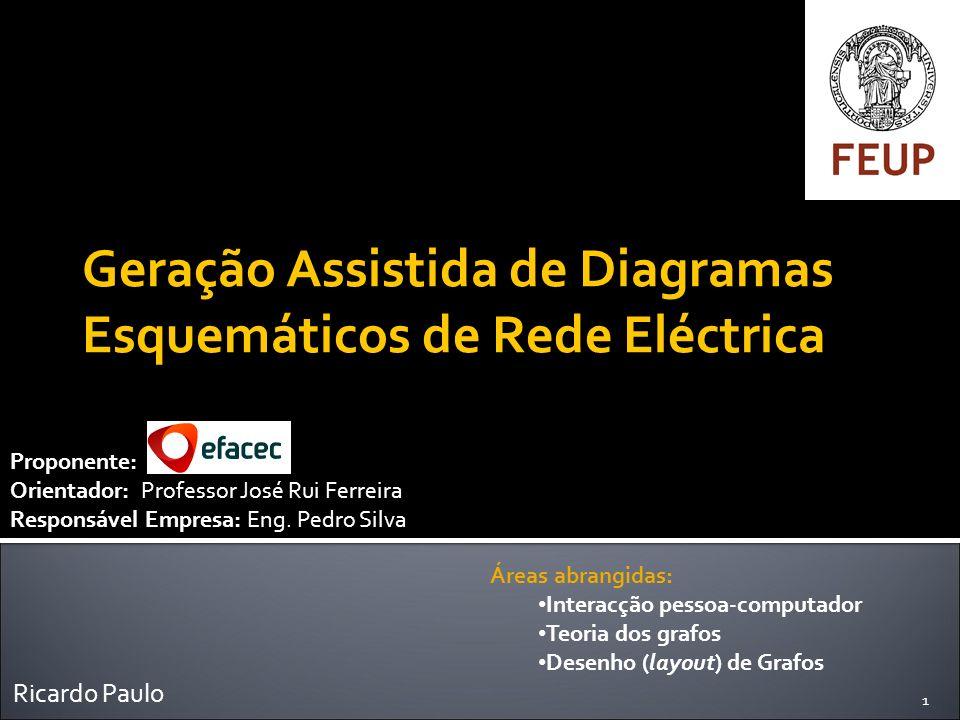 Geração Assistida de Diagramas Esquemáticos de Rede Eléctrica